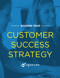 Building Your Customer Success Strategy – One Step At A Time